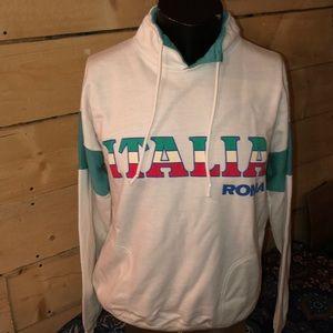 Vintage 1980s Italia Roma pullover. Size XL